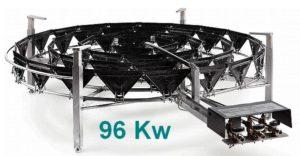 BRULEURS gaz PRO 96 Kw