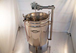 CUVES brassage GAZ + MELANGEUR
