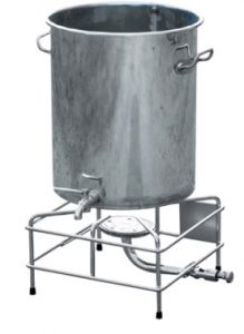 CUVE brassage GAZ