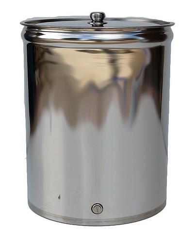 Fonds PLATS - 25 à 1000 litres - couvercle posé