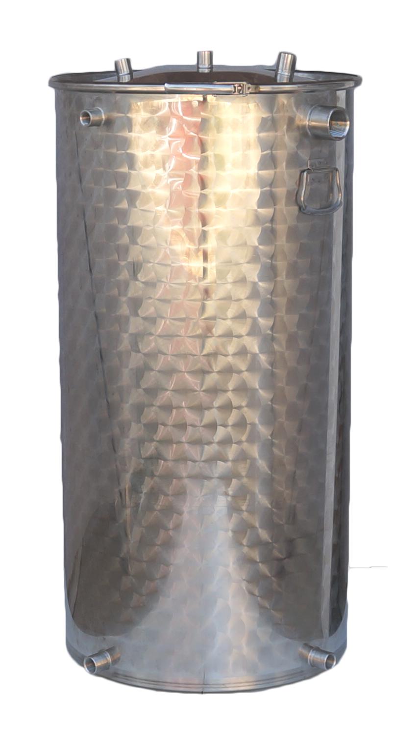 25 à 600 litres + 7 piquages - 10/10 ème - INOX 304L 1 : 804 - 2 : 1484