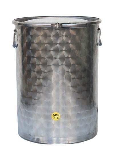 25 à 1000 litres - 8 ou 10/10ème - INOX 316 1 : 400 - 2 : 536