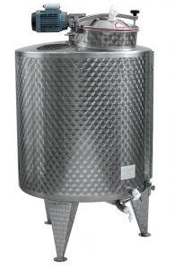 CUVE MVL + mélangeur LENT 600/1000 L