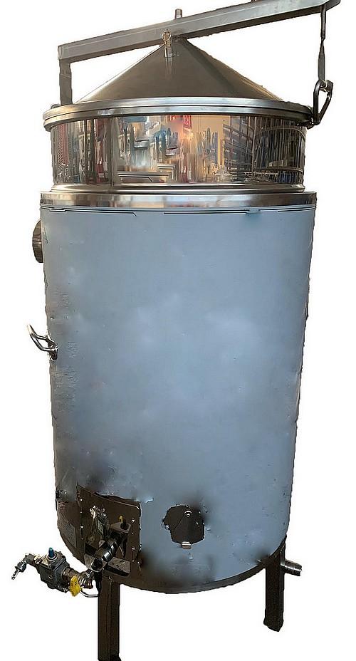 CUVES INOX rapide GAZ - Ebullition - 40 à 500 L