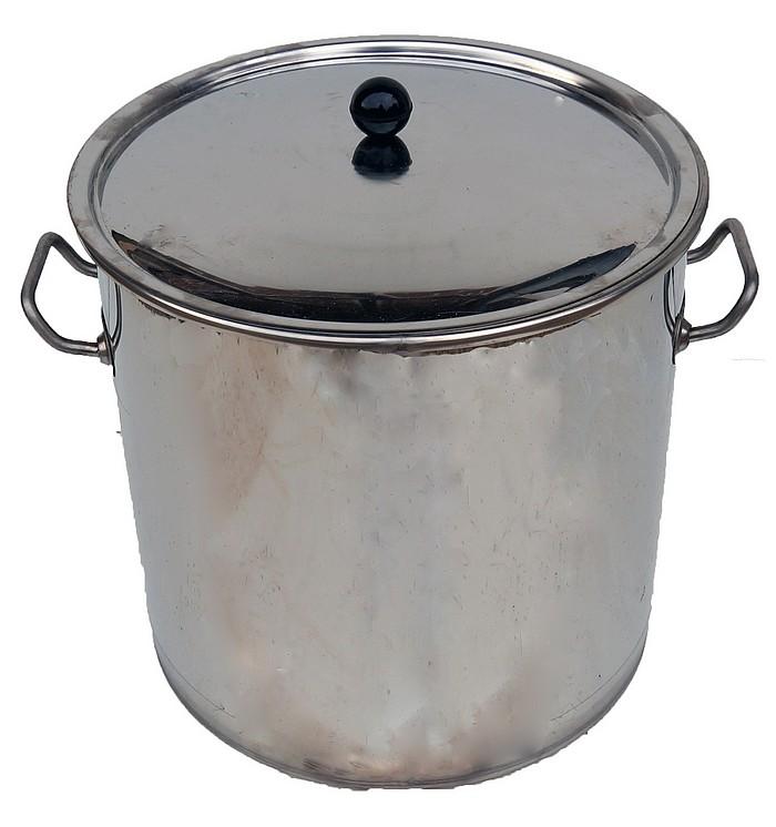 cuve inox forte epaisseur avec couvercle option panier inox