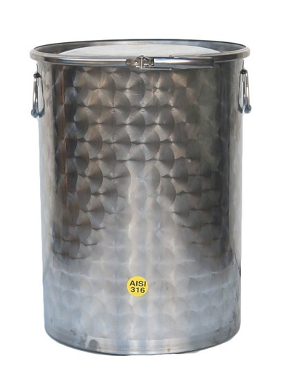 25 à 1000 litres - 8 ou 10/10ème - INOX 316
