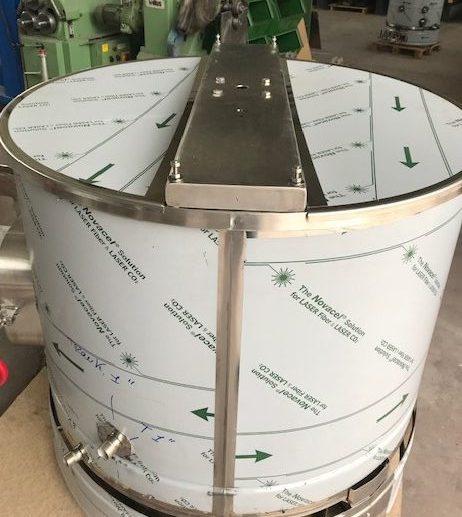 CUVE INOX électrique 90 à 800 L - bain marie EAU + mélangeur