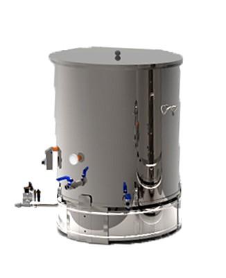 CUVE INOX électrique 90 à 800 L - bain marie EAU