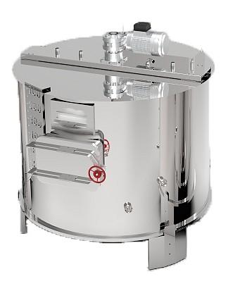 CUVE GAZ 90 à 800 L + mélangeur