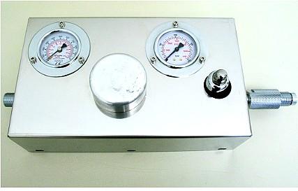 Groupe réglage pression gaz inerte
