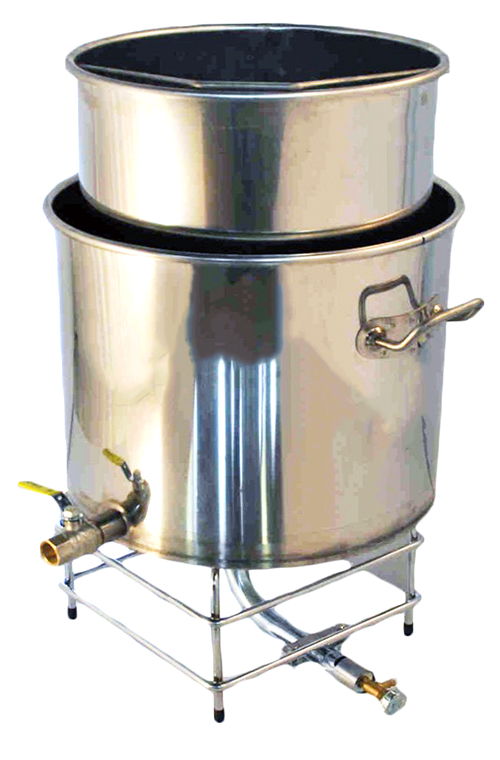 CUVE INOX Gaz - 40 a 60 Litres