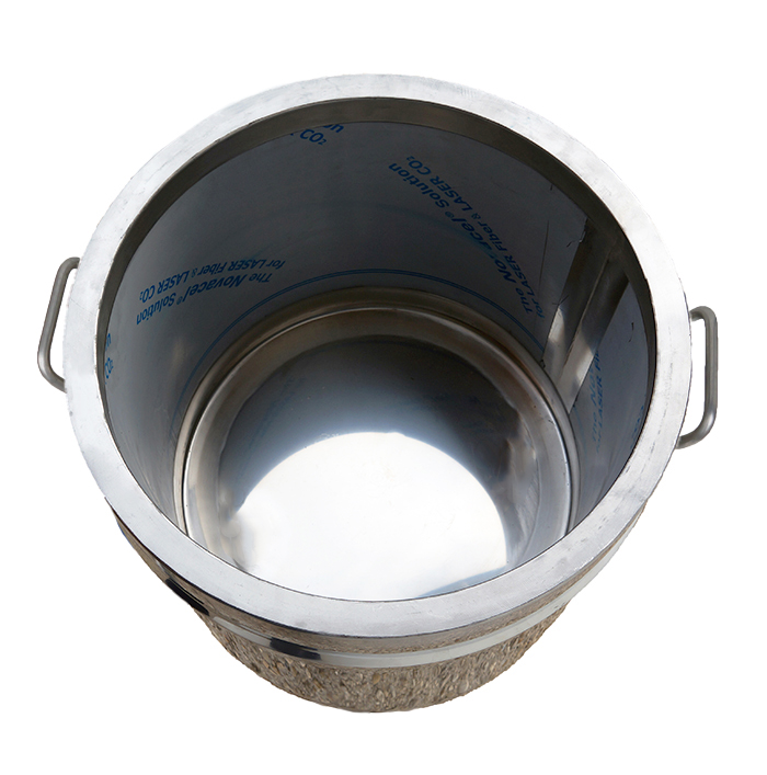 Cuve double paroi huile - Feu gaz ou electrique