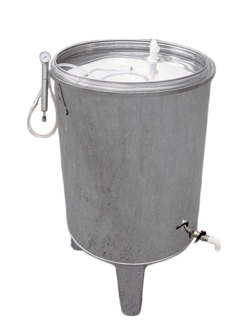 Réservoir inox avec couvercle flottant