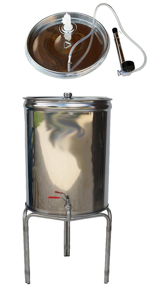 Fonds PLATS - 25 à 1000 litres - Couvercle Flottant