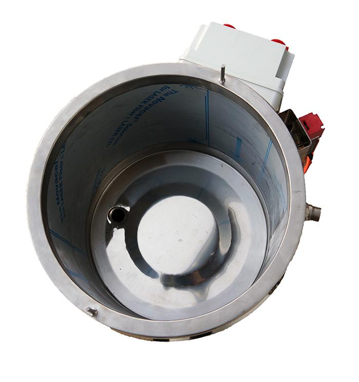 Intérieur cuve inox électrique double enveloppe