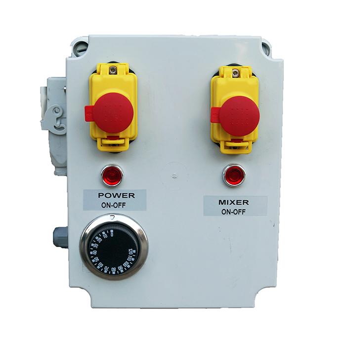 Armoire électrique pour chauffage et melangeur