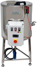 CUVE INOX chauffage électrique 50 L - bain marie EAU - 95°C maxi