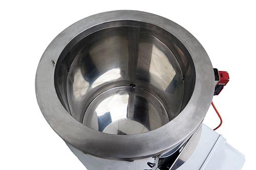 Intérieur fond de cuve double enveloppe