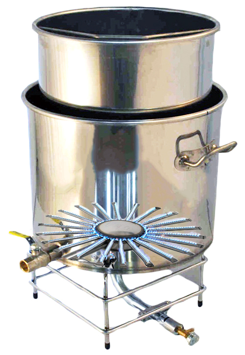 CUVE INOX CUISSON GAZ